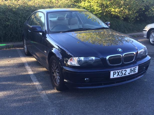 bmw 3 series coupe 12 MONTH MOT