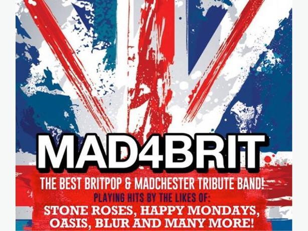 Mad 4 Brit 90's Night