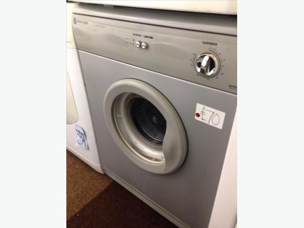 WHITE KNIGHT 6KG SILVER DRYER