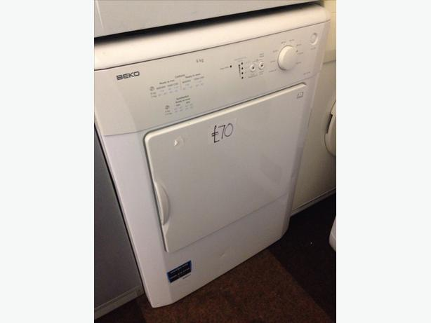 BEKO 6KG WHITE VENTED DRYER