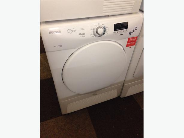 9KG HOOVER CONDENSER DRYER0