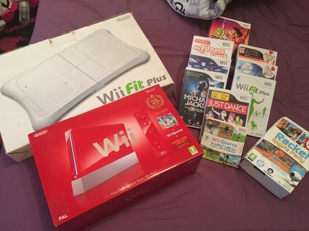 Nintendo Wii mario bros set