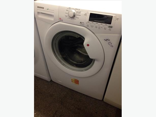 HOOVER 9KG 1600 SPIN WASHING MACHINE