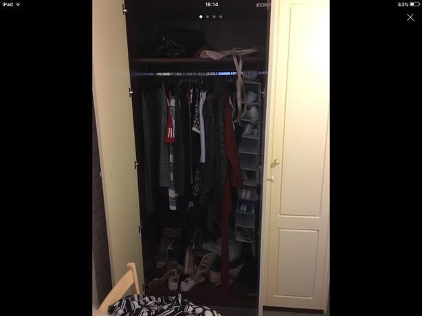 Solid wardrobes