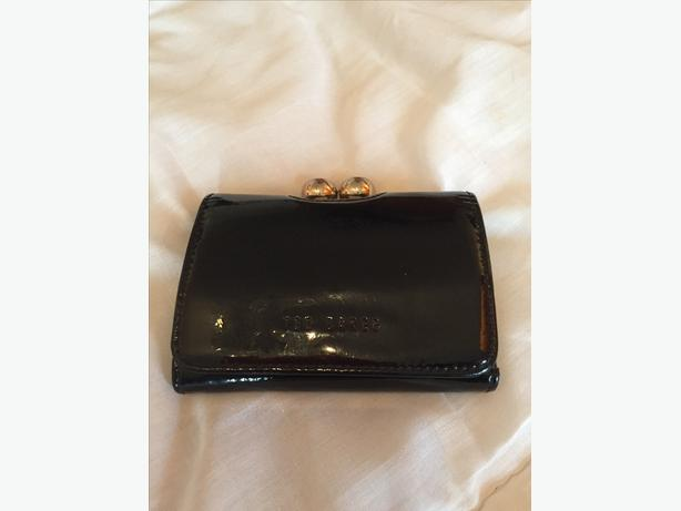 Ted Baker Black /  Gold Purse