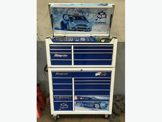 Snap on limited edition tool box ford M sport