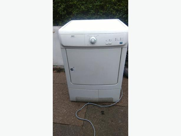 zanussi dryer