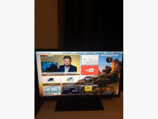 panasonic viera 32inch smart  tv