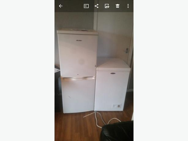 fridge freezer £30 cheat freezer £20