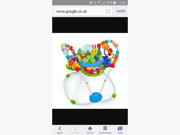 baby Einstein activity bouncer