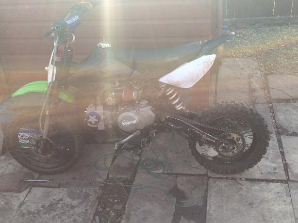 yx125  spares or repair