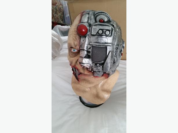 Digital Cyborg Latex Mask Ghoulish Horror Halloween