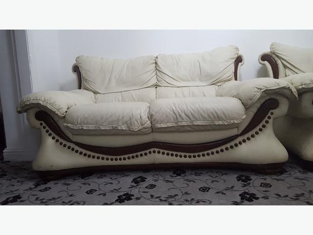 leather sofa (3+2+1+puffy)