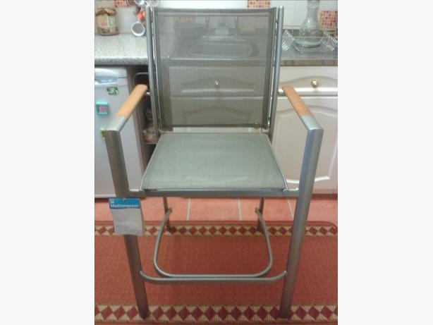 Large B and Q 'Mediterranean' bar stool.