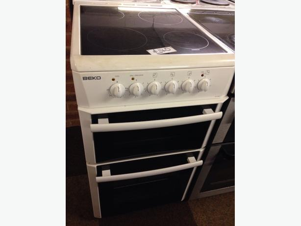 BEKO 50CM ELECTRIC COOKER CERAMIC TOP