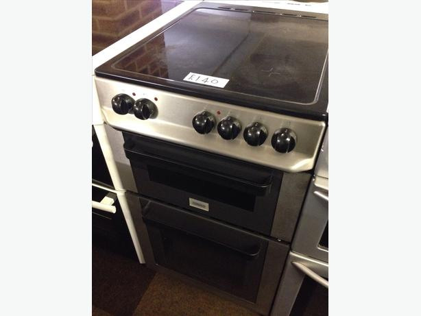 ZANUSSI CERAMIC TOP ELECTRIC COOKER 50CM