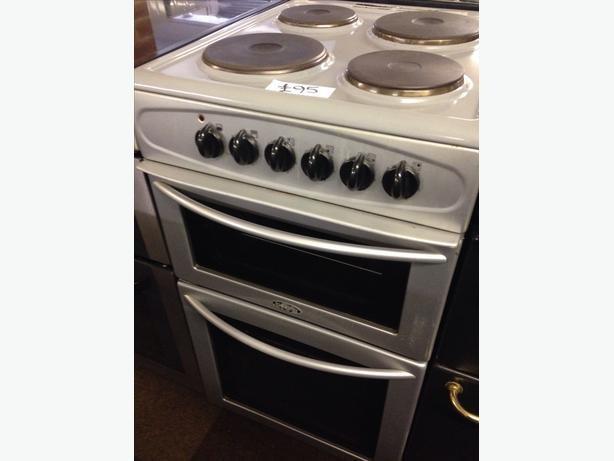 BELLING 50CM PLATED TOP ELECTRIC COOKER