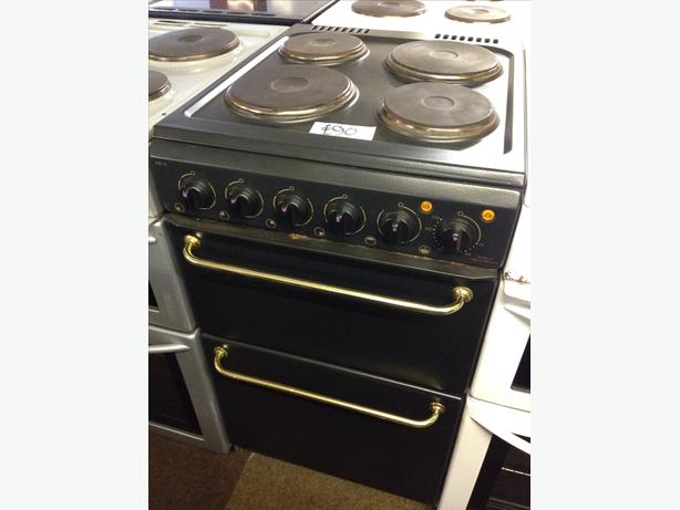HOTPOINT PLATED TOP FAN ASSISTED ELECTRIC COOKER