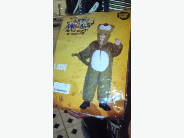 lion costume  5-8 years