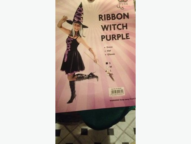 adult witch costume size small