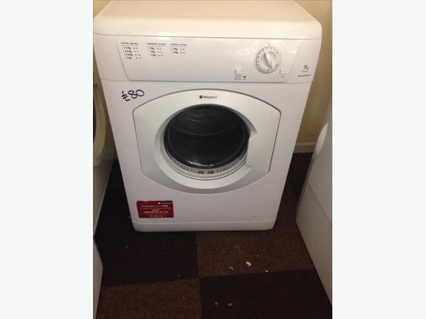 HOTPOINT DRYER 7KG VENTED