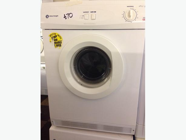 WHITE KNIGHT 6KG DRYER VENTED