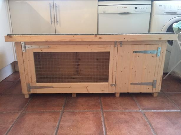 new rabbit hutch