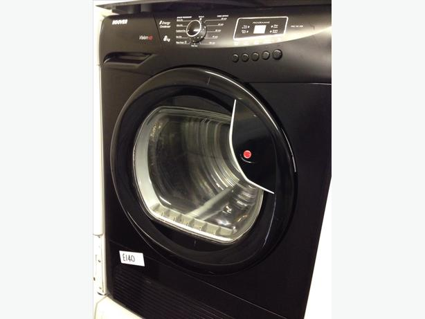 HOOVER DRYER CONDENSER BLACK 8KG
