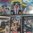 PSP 3003 Console bundle with 10 Games plus Media centre