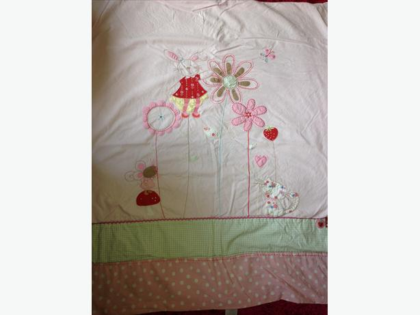 Girls cot bed lightweight trow by NEXT