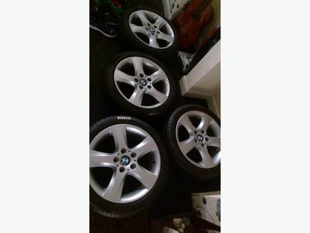 bmw alloys 17 set