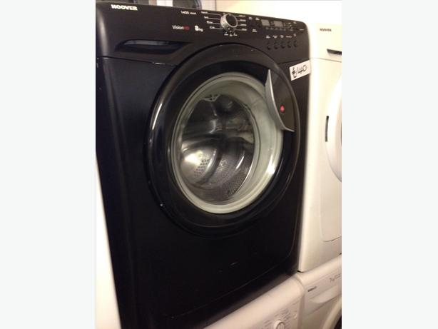 8KG BLACK HOOVER WASHING MACHINE