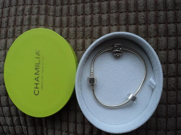 Chamilia Bracelet and 2charms