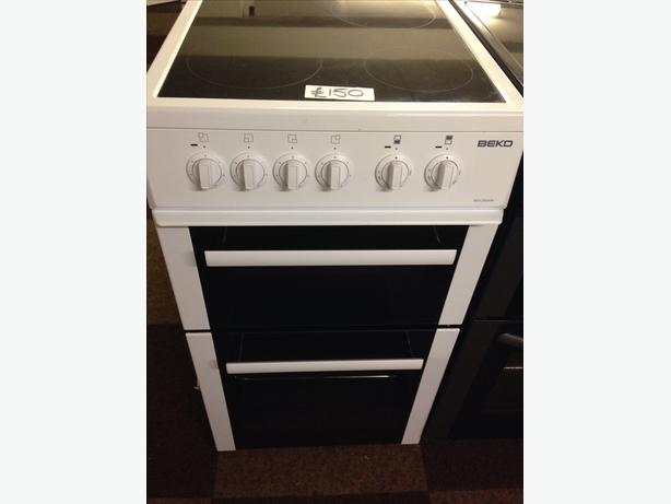 BEKO 50CM CERAMIC TOP ELECTRIC COOKER