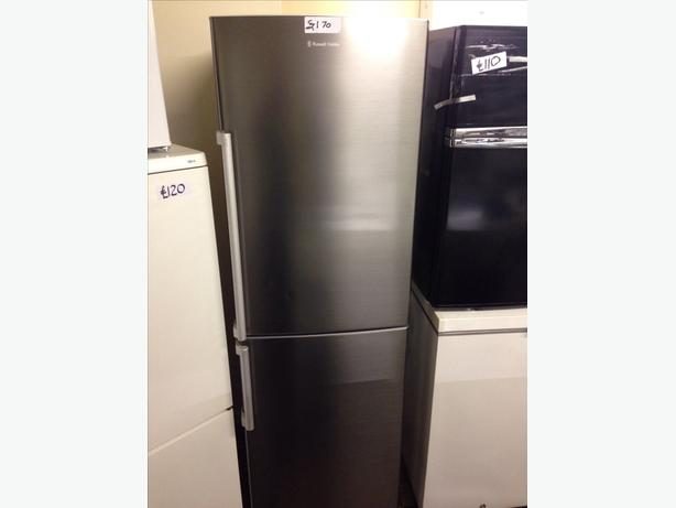 RUSSELL HOBBS FRIDGE FREEZER STAINLESS STEEL