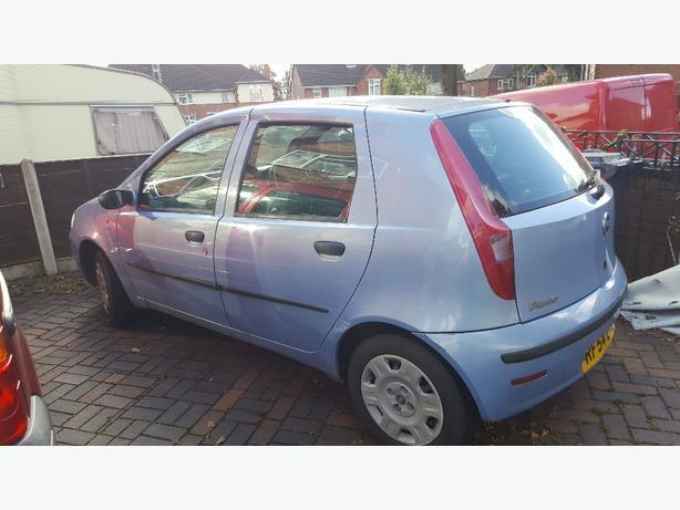 Fiat punto 04 1.2 petrol