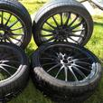 ONO 4 X 8 STUD UNIVERSAL FIT SPORTS ALLOYS VERY GOOD CONDITION