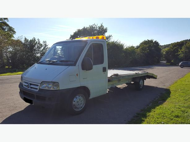 53 REG CITREON RELAY RECOVERY VEHICLE
