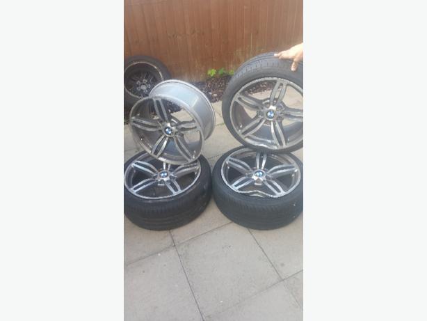 """18"""" bmw alloy wheels"""