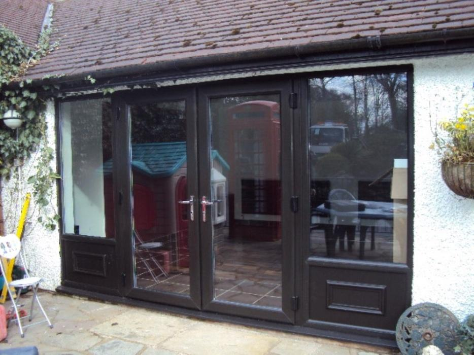 French doors starting from fitted dudley dudley for Used upvc patio doors
