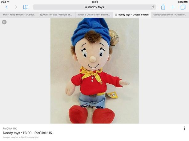 WANTED: noddy soft toy