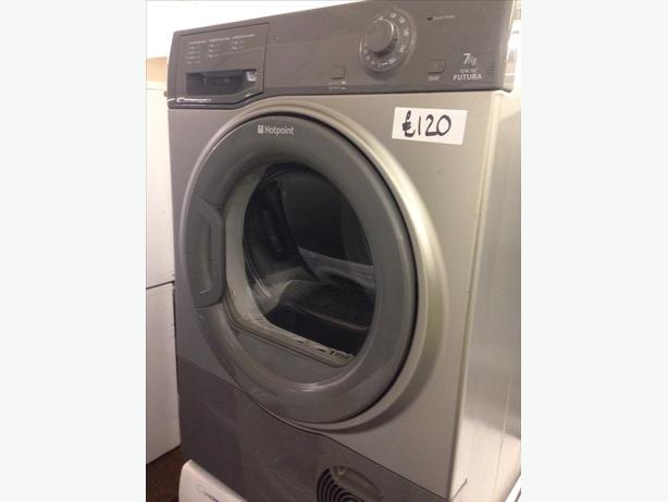 7KG HOTPOINT DRYER CONDENSER GREY