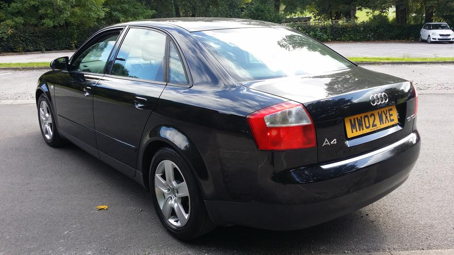 audi a4 1 9 tdi sport 130bhp 2002 02 reg 125000 miles. Black Bedroom Furniture Sets. Home Design Ideas