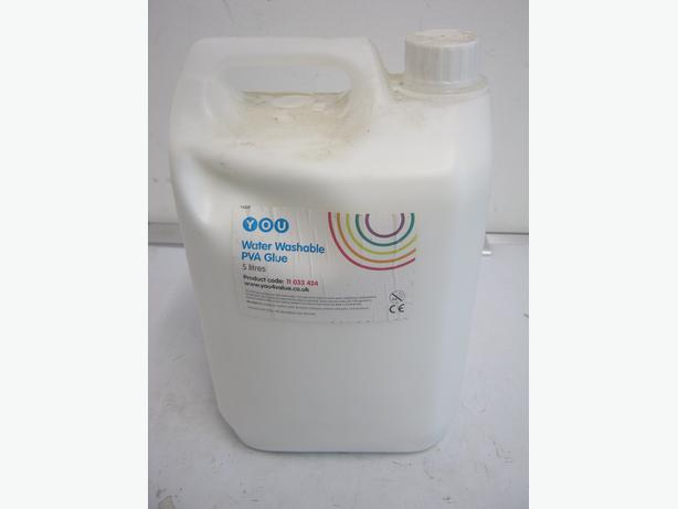 3 x PVA Glue Water Washable 5 Litres