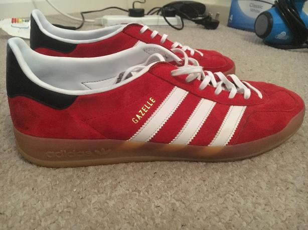 Adidas Gazelle Red Size 10