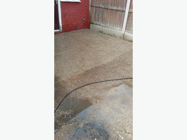 driveway and patio ect pressure cleaning