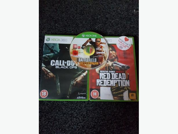 3 xbox(one) games for sale