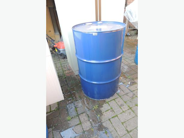 199 Litre Steel Drum For BBQ / Fire Bin etc