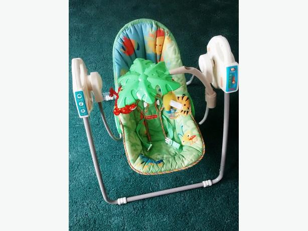 Electrical Fisher Price Baby Swinging Chair