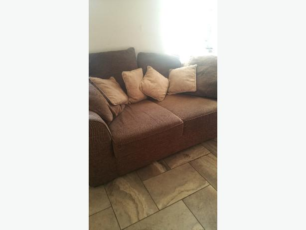 Brown next bed sofa
